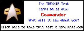 NerdTests.com User Test: The Trekkie Test.