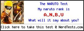The Naruto Test -- Make and Take a Fun Test @ NerdTests.com's User Tests!