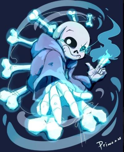 NerdTests com Test: Are you Sans from Undertale?