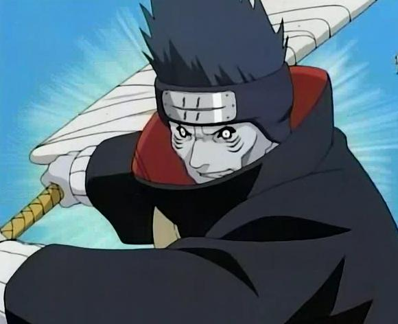 Kisame's Sword Shark Skin 5th Sword of mist