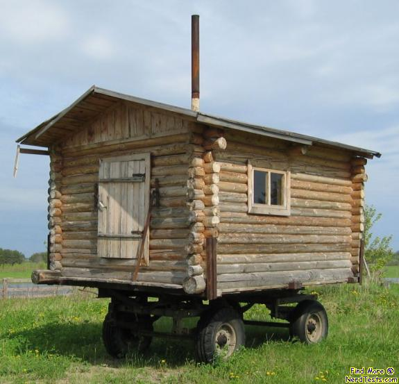 Mobile Log Home