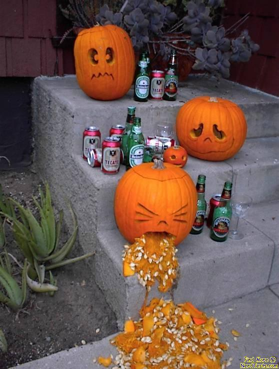 NerdTests.com - Drunk Pumpkin