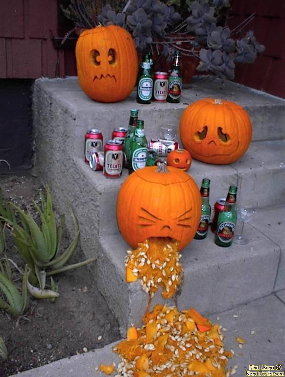 NerdTests.com - Drunk Pumpkin