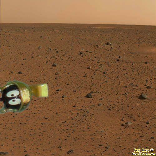 NerdTests.com - Proof of Life on Mars
