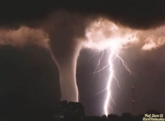 NerdTests.com - Tornado and Lightning