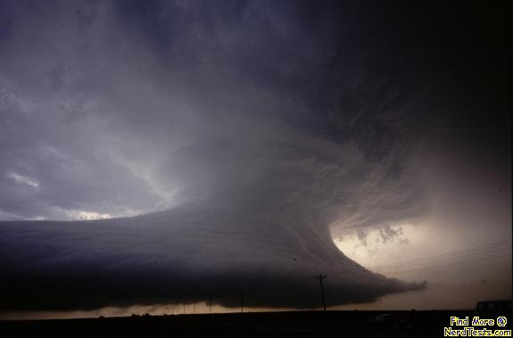 NerdTests.com - Supercell Wall Cloud