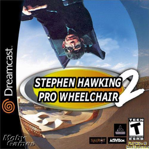 NerdTests.com - stephen hawking pro wheelchair 2