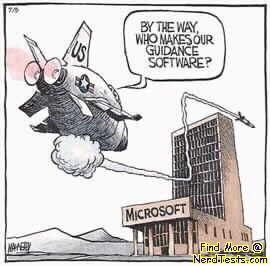 Attack of Microsoft